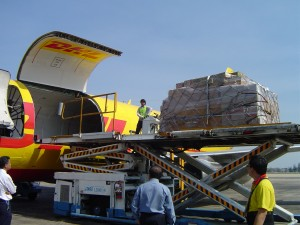 DHL and NeWay Logistics operate and manage more relief cargo charter flights to Nepal