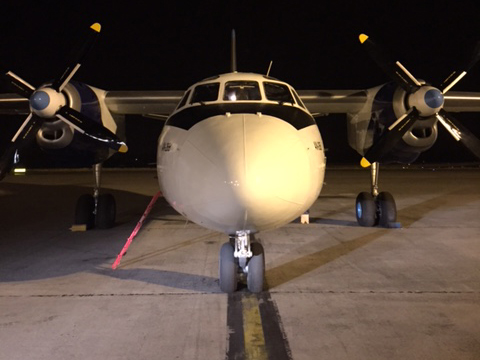 Valuable pharmazeuticals transported by an Antonov 26