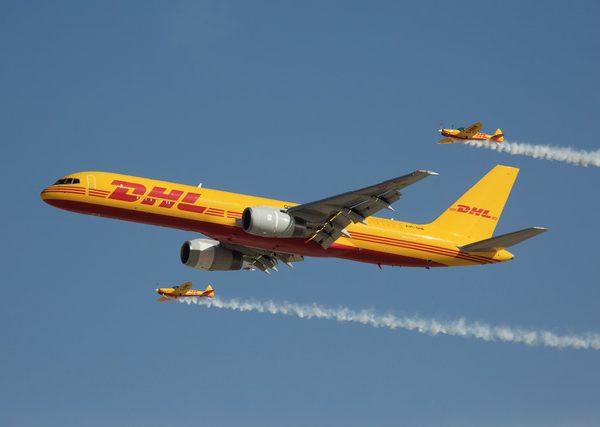 DHL Aircraft - Neway Logistics